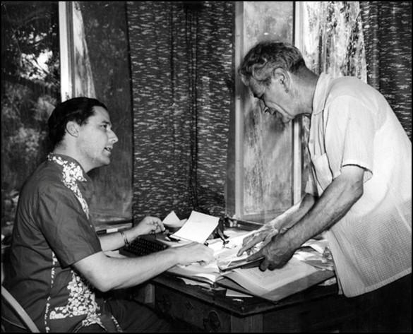 Leslie and Adamski, 1954