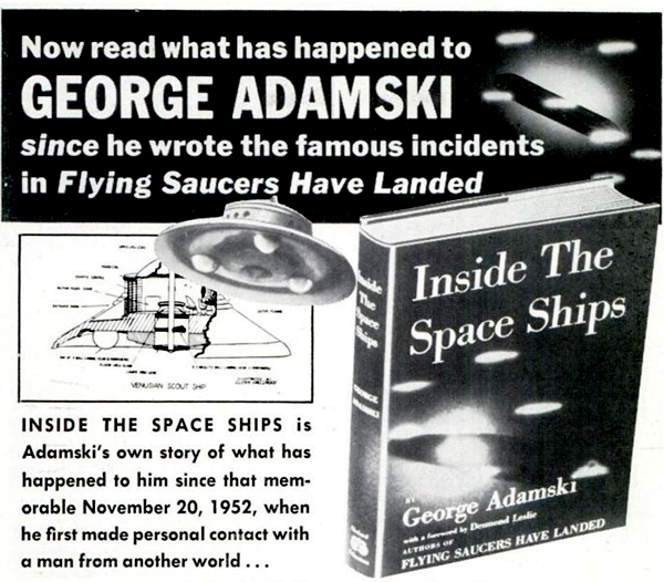 Advertisement for Inside the Space Ships, 1955