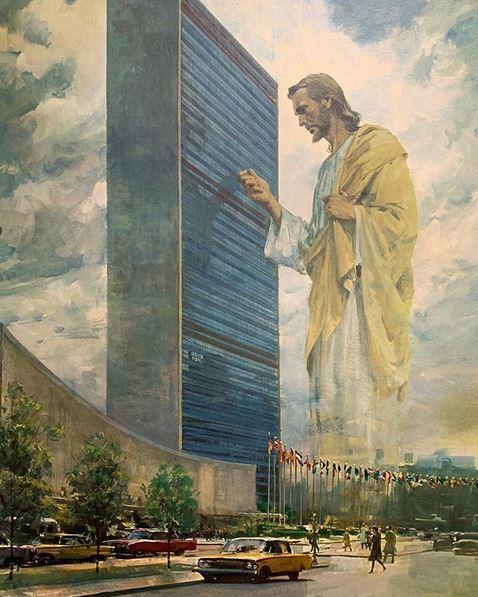 Jesus at the UN