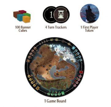 a war of whispers bordspel components deel 2