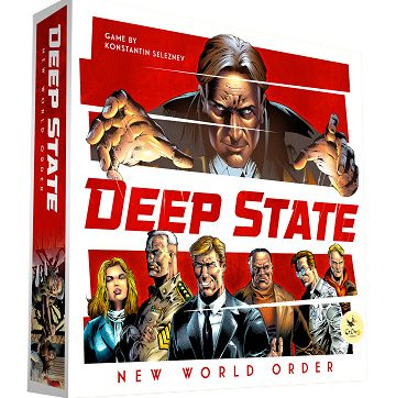 deep state new world order bordspel kopen
