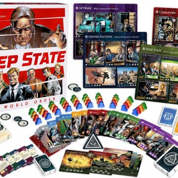 deep state new world order bordspel components