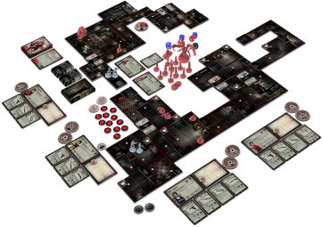 Resident Evil 2: The Board Game gameplay