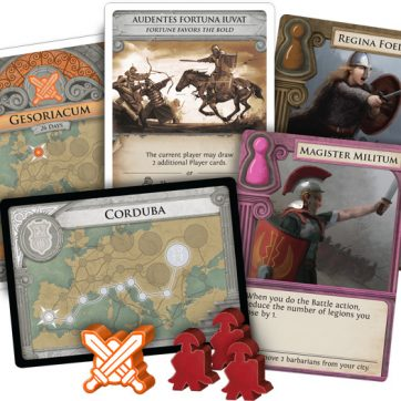 pandemic fall of rome bordspel voorbeeld kaarten