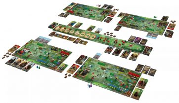 Paladins of the West Kingdom bordspel overview