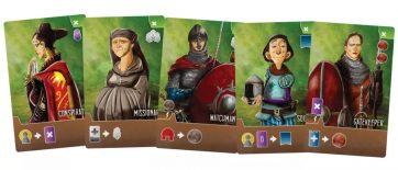 Paladins of the west kingdom townsfolk kaarten