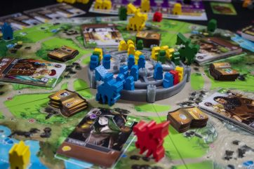 viscounts of the west kingdom action shot