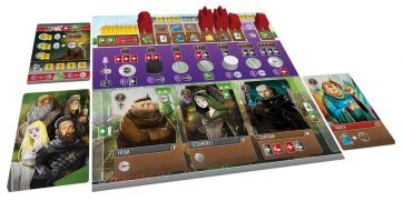 viscounts of the west kingdom player board setup