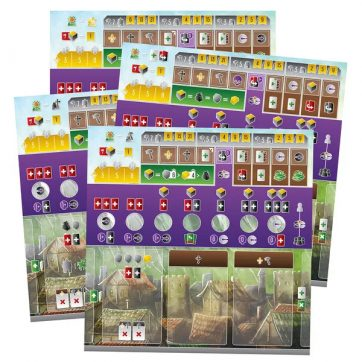 viscounts of the west kingdom player boards