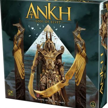 Ankh Gods of Egypt bordspel