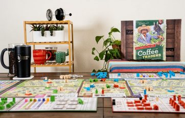 Coffee Traders bordspel overview