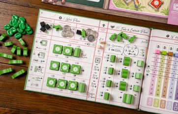 Coffee Traders player board