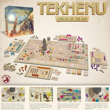 Tekhenu Obelisk of the Sun overzicht