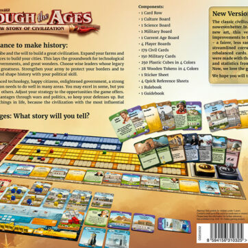 through the ages a new story of civilization bordspel