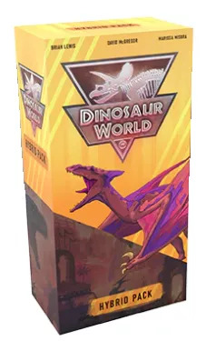 dinosaur world hybrid pack