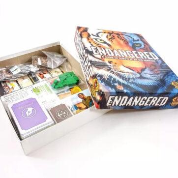 endangered bordspel