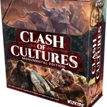 clash of cultures monumental edition bordspel