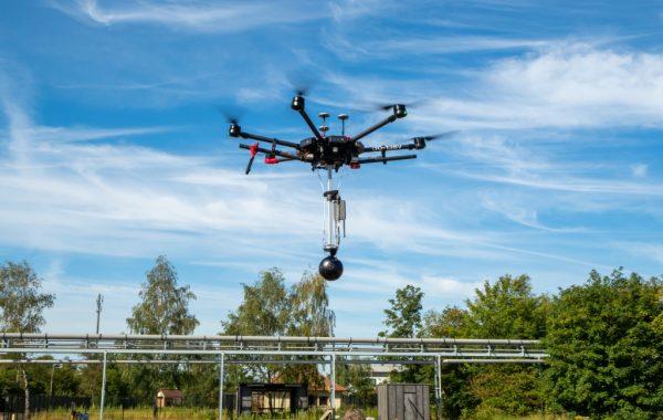 Drone beelden Ajinomoto met DJI M600