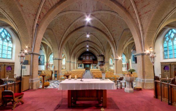 Virtuele rondleiding kerk Beervelde