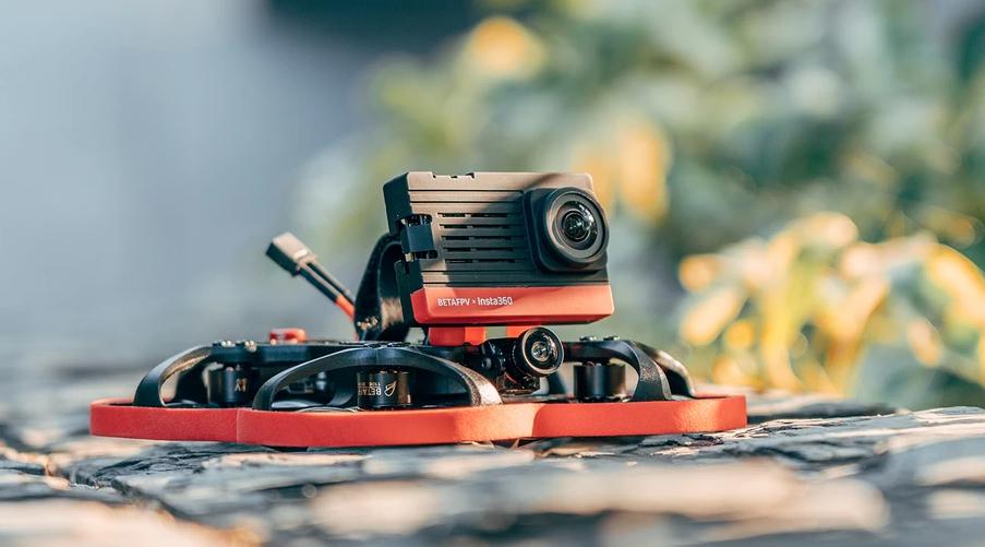 FPV indoor drone video