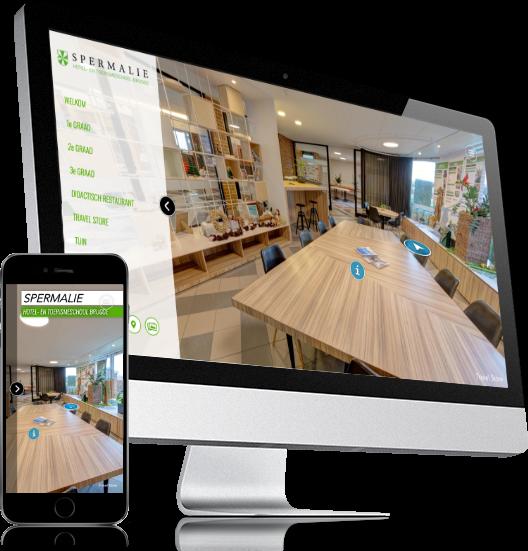 Virtuele tour op PC, Mac, tablet en smartphone