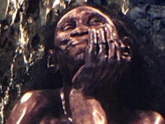 Alexandra Crouwers, homo floresiensis, moesgaard, digital diorama