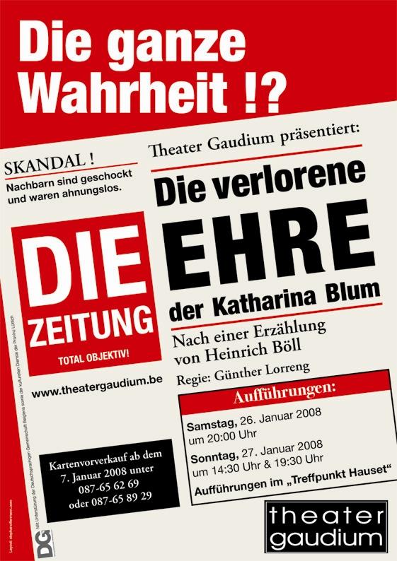 Blum Plakat