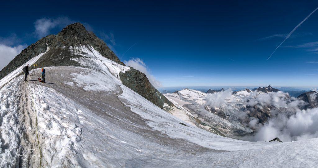 View over Grossglockner - northern side