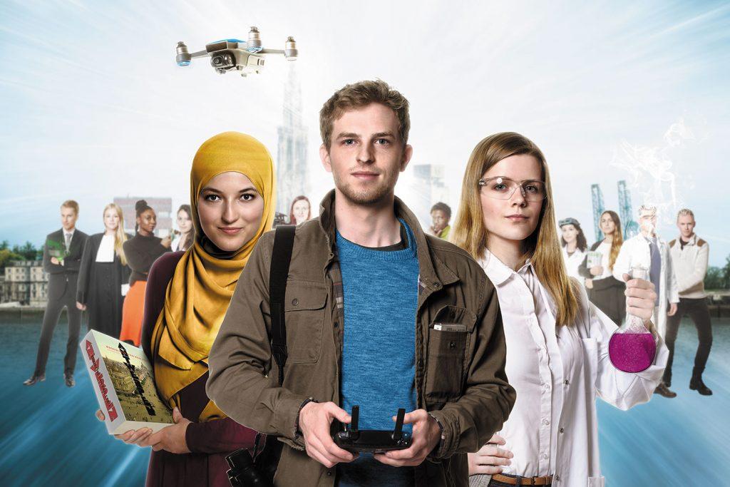 Universiteit Antwerpen Campagne 2018 Visual 1