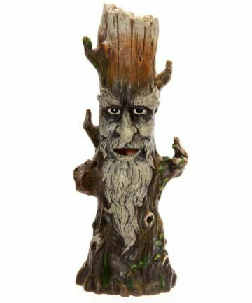 Large Green Tree Spirit Stick Incense Burner