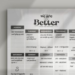 We are better