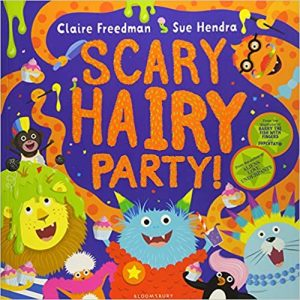 Scary Hairy Party Book