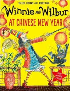 Winnie and Wilbur at Chinese New Year Book