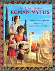 Orchard Romans Myths Book