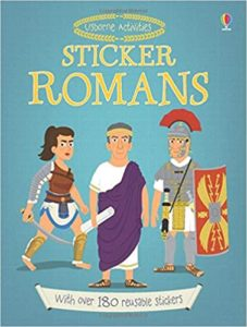 Sticker Romans Book