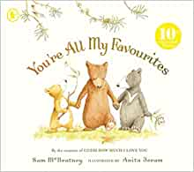 You're All My Favourites Book