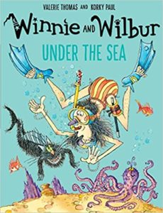 Winnie and the Wilbur Under the Sea Book