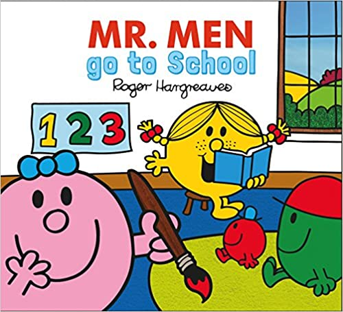 Mr Men Go to School Book