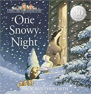 One Snowy Night Book