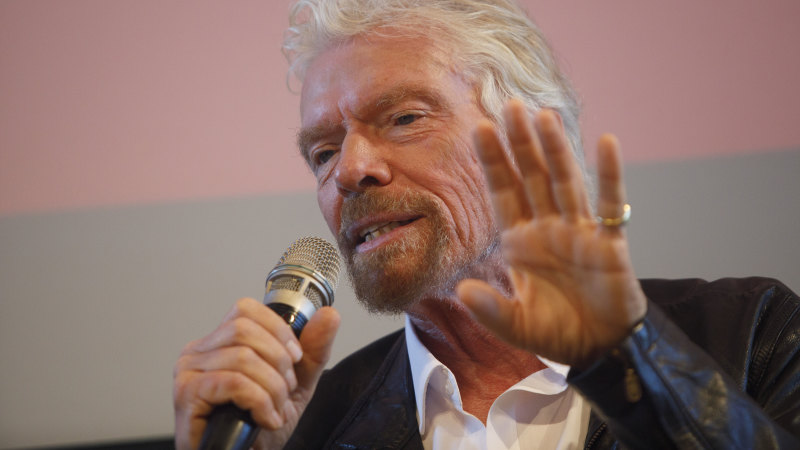 Sir Richard Branson's 'difficult baby' providing him with his biggest test