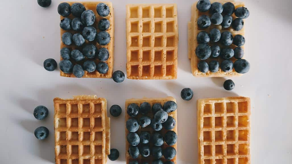 Belgian researchers serve up waffles made of insects