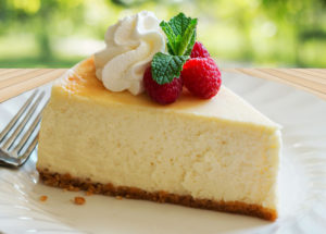 Low-carb + Keto Creamy Cheesecake