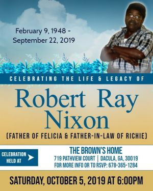 CELEBRATION OF LIFE for my Daddy