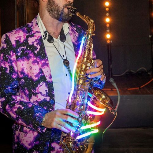 The Guild Chester saxophone player