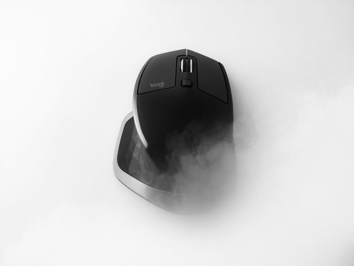 A cool shot of Logitech MX Master 2S - Also, got featured on Logitech's Instagram Account - Captured Using A Smartphone