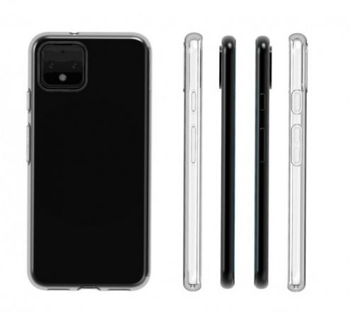 Google Pixel 4 transparent case leaked