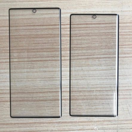 Samsung Galaxy Note 10 Series screen protectors are leaked