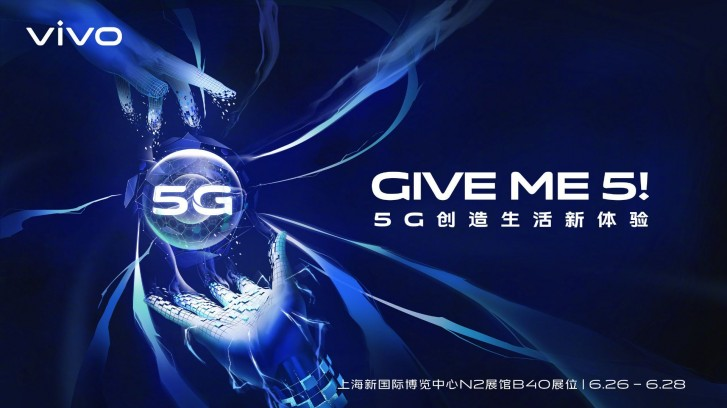 Vivo is ready to release its first 5G smartphone next week