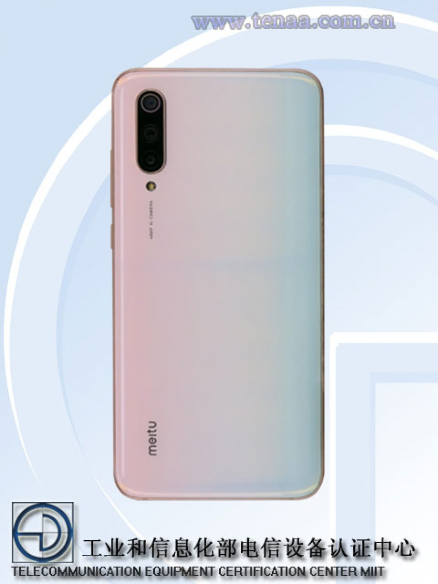 Xiaomi Mi CC9 Meitu Edition design and specifications leaked