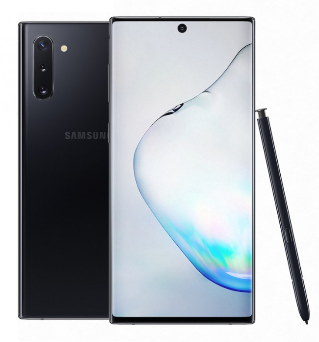 Samsung Galaxy Note 10 and Galaxy Note 10+
